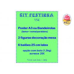 Kit Festinha + Bolo