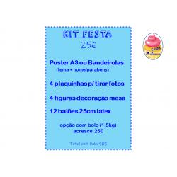 Kit Festa + Bolo