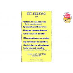 Kit Festão + Bolo