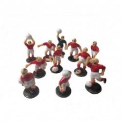 Jogadores Futebol Vermelho...