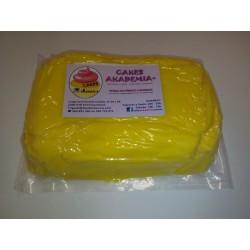 Pasta de açúcar amarelo 100g
