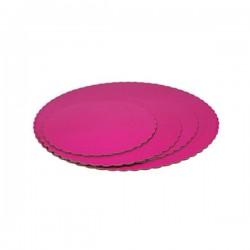Prato redondo rosa choque...