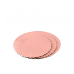 Prato redondo rosa bebé...