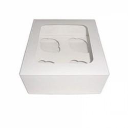 Caixa 4 Cupcakes