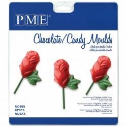 Molde Chocolate Rosas PME