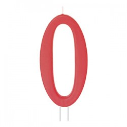 Vela Vermelha Modecor Gigante