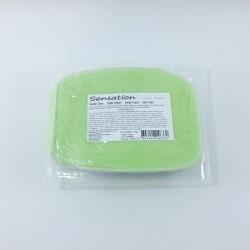 Pasta de açúcar verde claro