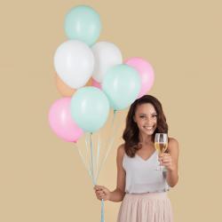 Enchimento de balões em latex