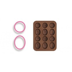 Molde Silicone  Chocolate...