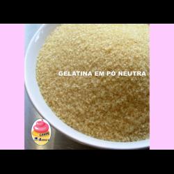 Gelatina em pó neutra 250g