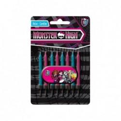 Velas Monster High (conj.8)