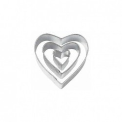 3 Cortantes Cortantes coração