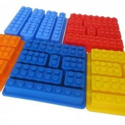 Molde silicone 7 peças lego