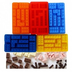 Molde Silicone 10 Peças Lego