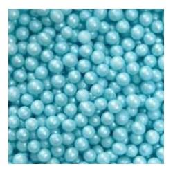 Pérolas Azul Claro 75gr - 5mm